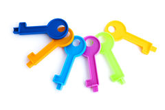 Toy keys Stock Image
