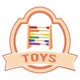 Toy label Stock Image