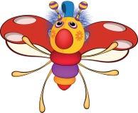 Ladybird from a fairy tale. Toy. Cartoon Stock Photography