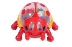 Toy ladybug Stock Image