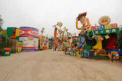 Toy Land. Land of toys are on Hong Kong island Stock Photo