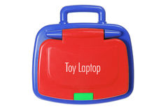 Toy Laptop Royalty Free Stock Image