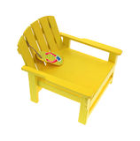Toy Lawnchair Royalty Free Stock Photos