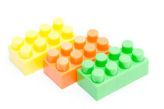 Toy lego block construction education childhood Stock Photos