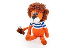 Toy lion Stock Photo