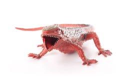 Toy Lizard /Dinosaur Lizenzfreies Stockfoto