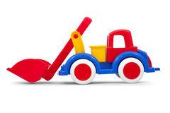 Toy loader Stock Photo