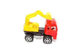 Toy Loaders. Isolate on white Royalty Free Stock Image