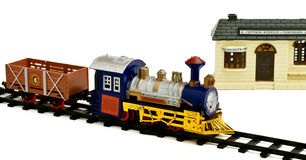 Toy locomotive Stock Image