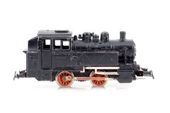 Toy locomotive Royalty Free Stock Images