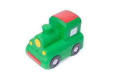 Toy locomotive Royalty Free Stock Photos
