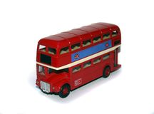 Toy London Bus royalty free stock image