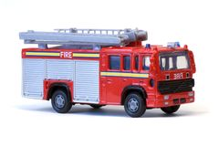 Toy London Fire Engine Stock Image