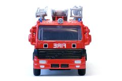 Toy London Fire Engine. A toy London fire engine stock photography