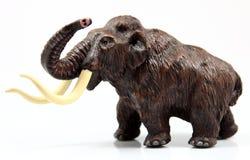 Toy Mamut. On white background royalty free stock image