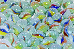 Toy marbles Stock Photos