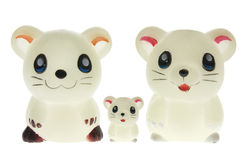 Toy Mice Royalty Free Stock Photo