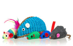 Toy mice Stock Image