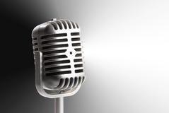 Toy microphone Stock Photos