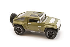 Toy. Military Humvee Stock Image