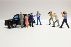 Toy, miniature figures of human Royalty Free Stock Photo