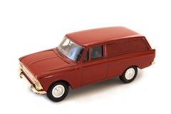 Toy model of a car. On a white background Stock Image