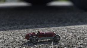 Toy model of a old car Stock Images