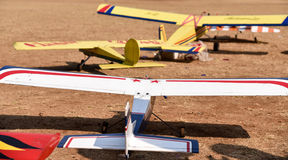 Toy Model planes Royalty Free Stock Photography