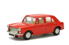 Toy Model sixties car Royalty Free Stock Images
