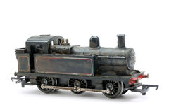 Toy model steam shunter engine royalty free stock photography