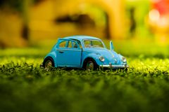Toy. Modelcar Volkswagen Cardesign stock photo