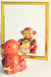 Toy monkey Stock Images