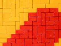 Toy mosaic Royalty Free Stock Image