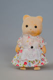 Toy mother bear. A lovely toy mother bear royalty free stock photography