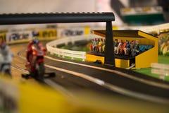 Toy motocross game