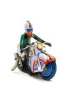 Toy motorcycle Royalty Free Stock Image