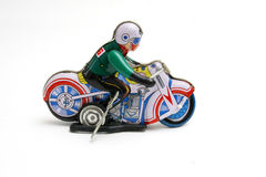 Toy motorcycle Stock Image