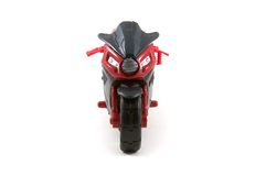 Toy motorcycle Royalty Free Stock Images