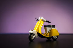 Toy motorcycle Royalty Free Stock Photo