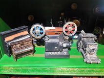 Toy Movie camera and Piano Royalty Free Stock Images