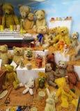 Toy Museum i Prague Arkivbilder