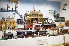 Toy museum in Munich Royalty Free Stock Photo
