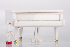 toy music box or piano music box on a background. Stock Photography