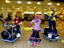 Toy Musical Band stock images