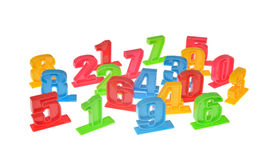 Toy number Stock Image