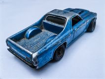 Toy old car royalty free stock image