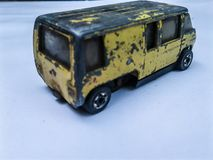 Toy old van royalty free stock images