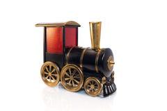 Toy Old-Zug lokalisiert auf weißem Hintergrund Stockbild