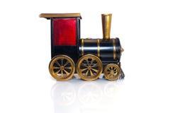 Toy Old-Zug lokalisiert auf weißem Hintergrund Lizenzfreies Stockbild