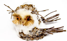 Toy owl Royalty Free Stock Image
